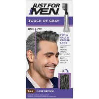 Just For Men Touch of Gray Gray Hair Coloring for Men's with Comb Applicator Great for a Salt and Pepper Look