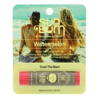 Sun Bum Sunscreen Lip Balm, Watermelon, Broad Spectrum SPF 30