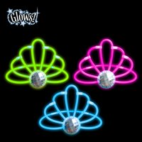 Way To Celebrate Glow Stick Crowns with Gem, 3 ct