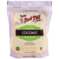 Bobs Red Mill Coconut, Unsweetened, Shredded