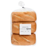 The Bakery Bratwurst Buns, 6 Count