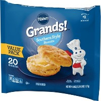 Pillsbury Grands! Southern Style Frozen Biscuits - 20ct/41.6oz