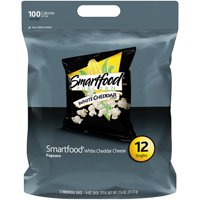 Smartfood White Cheddar Cheese Popcorn, 0.625 Oz., 12 Count