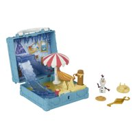 Disney Frozen 2 Pop Adventures Portable Pop-up Olaf's Bedroom Playset with Olaf Small Doll