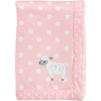 Child of Mine by Carter's, Plush Valboa Blanket - Baby Girls