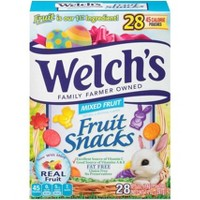Welch's Easter Shaped Mixed Fruit Snacks - 28ct