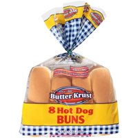 Butter Krust® Hot Dog Buns 8 ct Bag