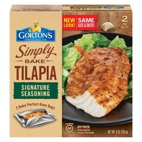 Gorton's Simply Bake Signature Seasoning Tilapia - 9oz