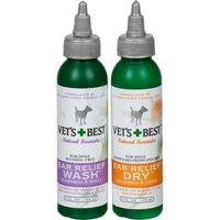 Vets Best Ear Relief Wash + Dry, For Dogs