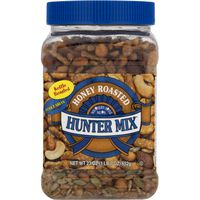 Hunter Mix Nuts, Kettle & Honey Roasted, Southern Style, Jar