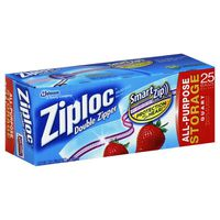 Ziploc Storage Bags Quart