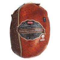 H-E-B Bourbon Glazed Smoked Ham, Sold By The Pound