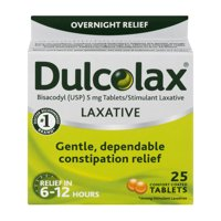 Dulcolax Laxative Tablets, 25ct