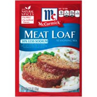 McCormick Meat Loaf Seasoning Mix with 30% Less Sodium, 1.25 oz