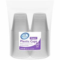 Kroger Clear Plastic Cups