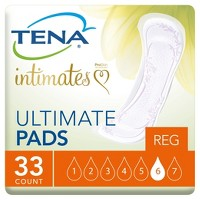 TENA Ultimate Incontinence Pad - 33 Ct
