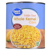 Great Value Golden Sweet Whole Kernel Corn, 106 oz