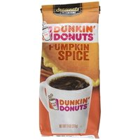 Dunkin' Donuts Pumpkin Spice Flavored Coffee, 11-Ounce