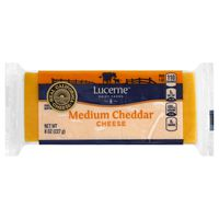 Lucerne Dairy Farms Medium Cheddar Cheese
