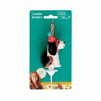 Pioneer Woman Dog Birthday Candle Holder