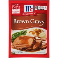 McCormick Brown Gravy Mix .87 oz