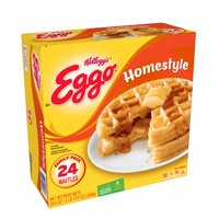 Kellogg's Eggo Homestyle Waffles Easy Breakfast 29.6 oz 24 ct