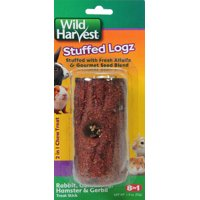 Wild Harvest Edible Log Stuffer Treat Stick for Small Animals