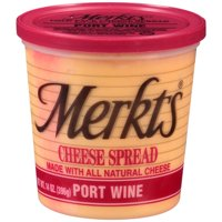 Merkts Port Wine Natural Cheese Cheese Spread, 14 oz