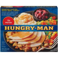Hungry-Man Roasted Carved White Meat Turkey Frozen Dinner