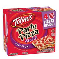 Totinos Party Pizza, Classic Pepperoni, 4 Pack