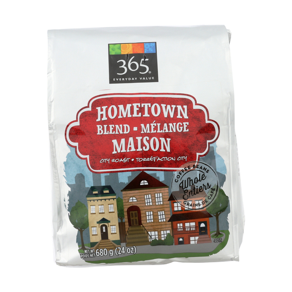 365 everyday value® Hometown Blend City Roast Whole Coffee Beans, 24 oz
