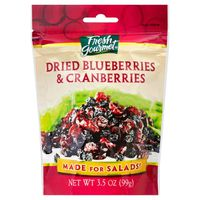 Fresh Gourmet Blueberries & Cranberries Dried & Sweet