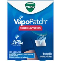 V VapoPatch with Soothing Vicks Vapors