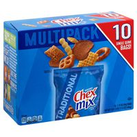 Chex Mix Snack Mix, Traditional, Savory, Multipack