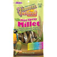 Tropical Carnival Natural Mini Spray Millet Foraging Treat for Birds