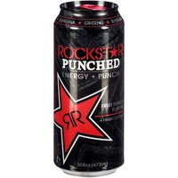 Rockstar Punched Fruit Punch Energy Drink, 16 Fl. Oz.