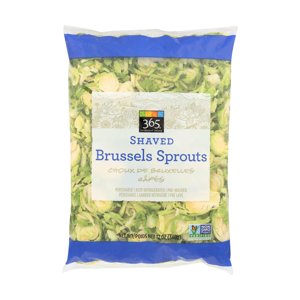 365 everyday value® Shaved Brussels Sprouts, 12 oz