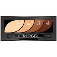 CoverGirl Eye Shadow Quads, Go For The Golds, Female Cosmetics