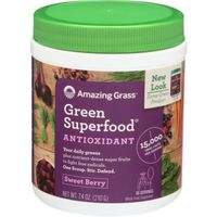 Amazing Grass Green Superfood, Sweet Berry Flavor, Antioxidant