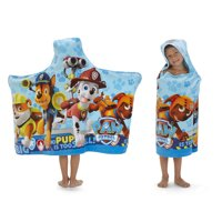 "PAW Patrol Kids Bath and Beach Soft Cotton Terry Hooded Towel Wrap, 24"" x 50"""