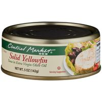 Central Market Solid Yellowfin Tuna In Olive Oil