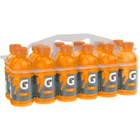Gatorade Fierce Thirst Quencher, Orange, 12 fl oz, 12 count