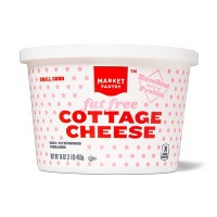 Fat Free Small Curd Cottage Cheese - 16oz - Market Pantry™