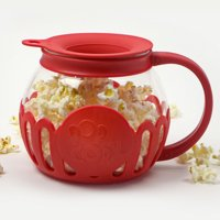 Tasty 1.5Qt Micro Popcorn Popper (Caged), Red