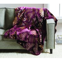 "Better Homes & Gardens Oversized Velvet Plush Throw Blanket, 50"" x 70"""