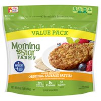 Morning Star Farms Breakfast Sausage Veggie Patties 16 oz 12 ct