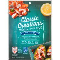 Classic Creations Flake Style Imitation Crab Meat 24 oz. Pouch