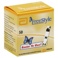 FreeStyle Blood Glucose Test Strips, 50 Count