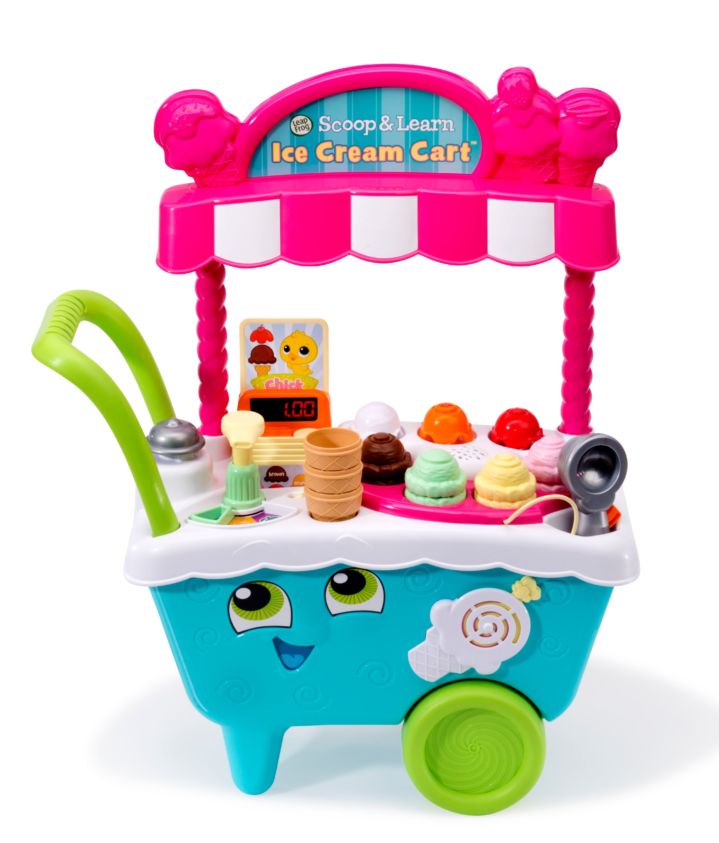 Leapfrog Scoop And Learn Ice Cream Cart Play Kitchen Toy For Kids From Walmart In Austin Tx Burpy Com