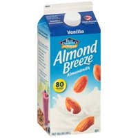 Blue Diamond Almond Breeze Natural Vanilla Almond Milk, 1.89 l